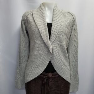 Eddie Bauer NWOT Cable Knit Cardigan Sweater M